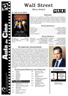 Wall Street - Aula de Cine de la ULPGC
