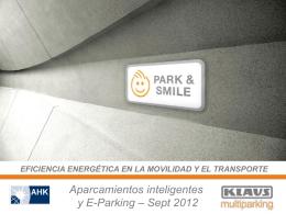Multiparking Presentación - Jornadas Hispano Alemanas