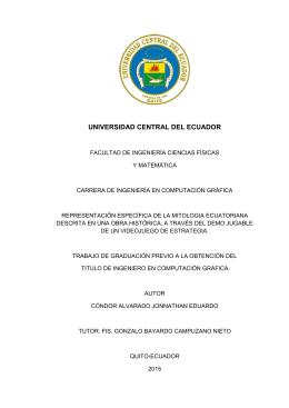 representación específica de la mitologia ecuatoriana descrita en