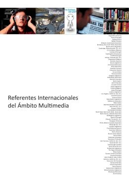 Referentes Internacionales del Ámbito Multimedia