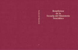 Benefíciese de la Escuela del Ministerio Teocrático