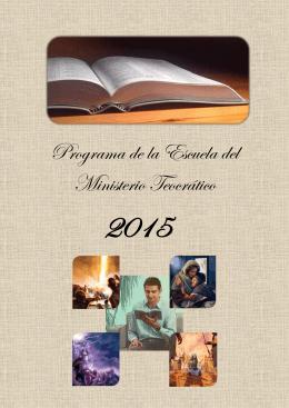 Programa de la Escuela del Ministerio Teocrático
