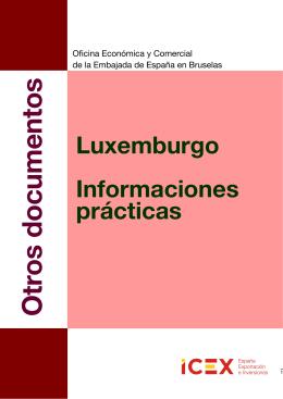 LUXEMBURGO Info Practica