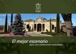 El mejor escenario - Hotel Cigarral El Bosque