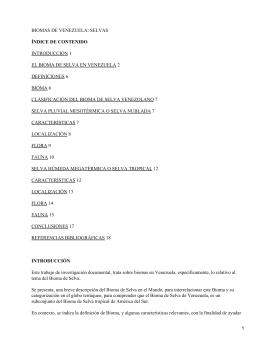 biomas de venezuela - Mundodescargas.com