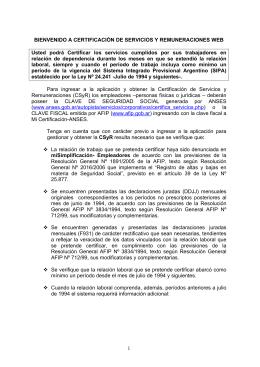 Manual Operativo Certificación de Servicios web