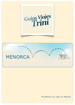 Descargar la guía de ejemplo de Menorca