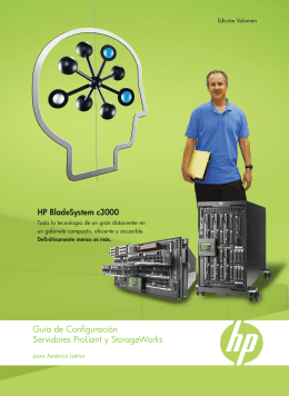 Guía de Configuración Servidores ProLiant y StorageWorks