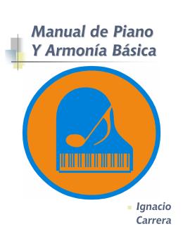 Manual de Piano y Armonía Básica - - 1