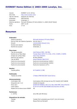 Informe de Pentium 166