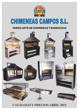 Barbacoas - Chimeneas Campos. fabrica