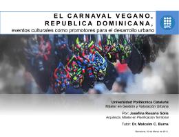 EL CARNAVAL VEGANO, REPUBLICA DOMINICANA,