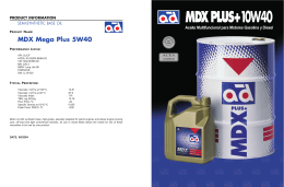 MDXPLUS+10W40