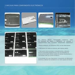carcasas para componentes electrónicos