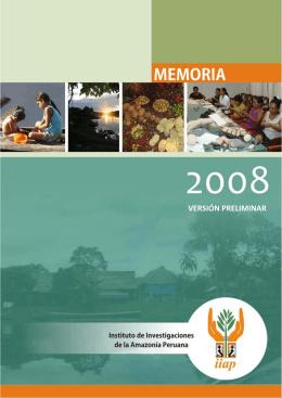 memoria completa año 2008 - Instituto de Investigaciones de la