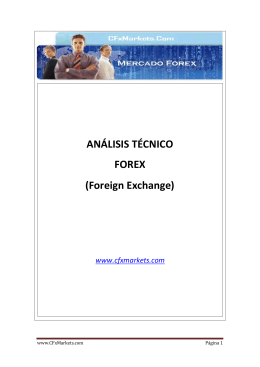 ANÁLISIS TÉCNICO FOREX (Foreign Exchange)