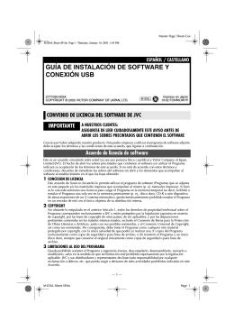 GUÍA DE INSTALACIÓN DE SOFTWARE Y CONEXIÓN USB
