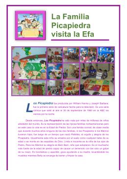 La Familia Picapiedra visita la Efa