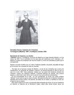 González García, Casimiro (H. Crisanto