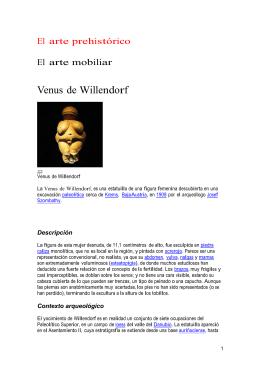 Venus de Willendorf - Página No Oficial UNED