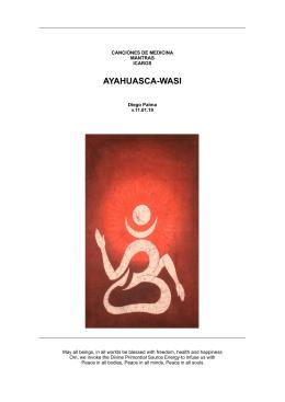 AYAHUASCA-WASI - Madre Ayahuasca