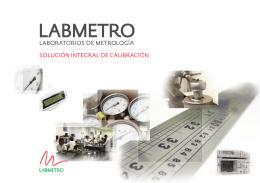 LABORATORIOS DE METROLOGÍA SOLUCIÓN