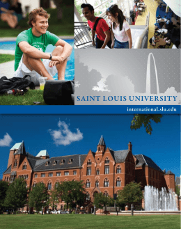 BE at Saint Louis University!