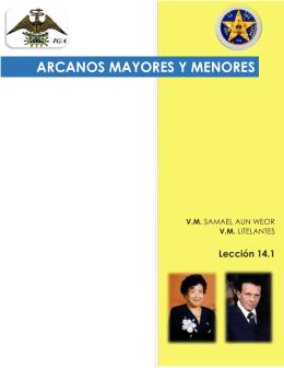 ARCANOS MAYORES Y MENORES