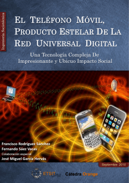 dispositivos móviles - dit/UPM - Universidad Politécnica de Madrid