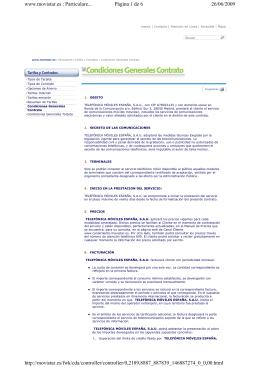 www.movistar.es : Particulare... Página 1 de 6 26/06/2009 http
