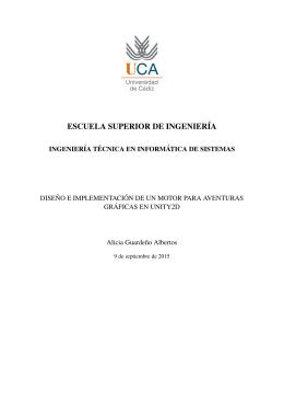 ESCUELA SUPERIOR DE INGENIERÍA - rodin