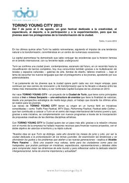 Comunicato generale TOYOU_SPA - ToYou