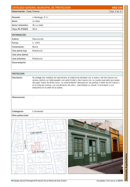 194. casas terreras - Geoportal Las Palmas GC