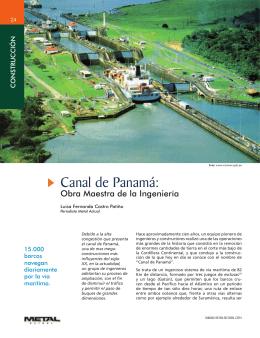 Construcción Canal de Panamá
