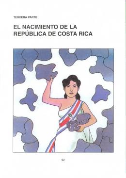 el nacimiento de la republica de costa rica