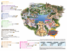 seuss landing™ the lost continent® the wizarding world of harry potter