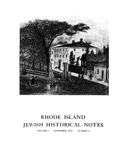 5.4 - Rhode Island Jewish Historical Association