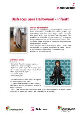 Disfraces para Halloween - Infantil Disfraz de