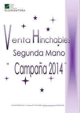 ECOAVENTURA SL C/ Chorrón Nº 12 CP 19005 info@ecoaventura