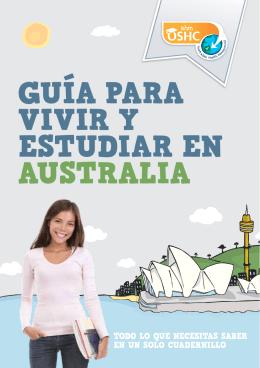 GUÍA PARA VIVIR Y ESTUDIAR EN AUSTRALIA