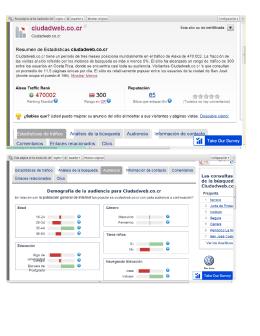 ranking de ciudad web abril 2012