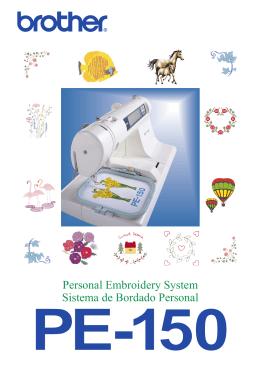 Personal Embroidery System Sistema de Bordado Personal