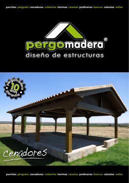 Catalogo Cenadores - Pergomadera pérgolas y porches de madera