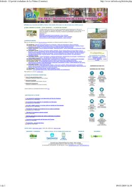 Infoisla - El portal ciudadano de La Palma (Canarias)