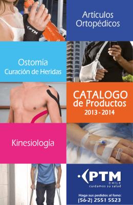 CATALOGO - Ortopedia PTM