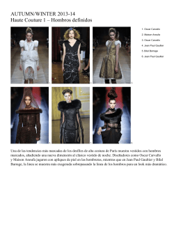 Couture A-W 13-14 Sml