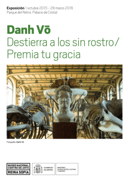 Folleto de Danh Vō