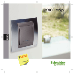 Unica Top - Schneider Electric