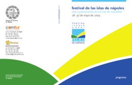 festival de las islas de nápoles 2009 programa