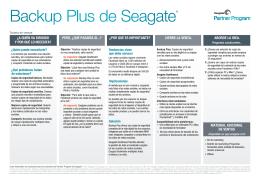 Backup Plus de Seagate®